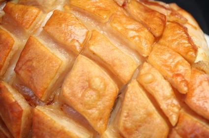 Pork crackling on one of our beautiful Hertfordshire hog roasts