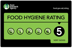 Food Hygiene Rating (5/5 - Very Good)